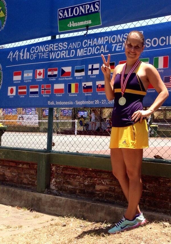 Dritter Ärzte-Weltmeistertitel für Ina-Maria Range