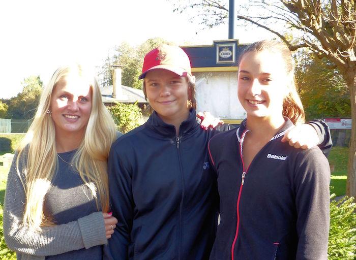 Mona, Katharina und Linda