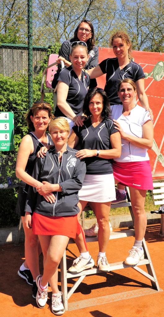 Die Damen 40 des THC im VfL Bochum