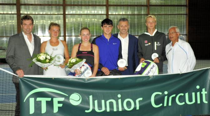 ITF-Turnier gelaufen
