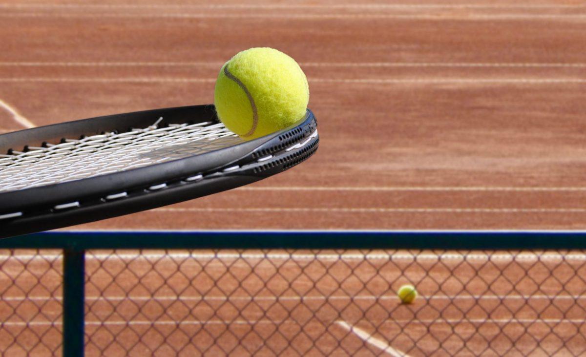 Tennisszene
